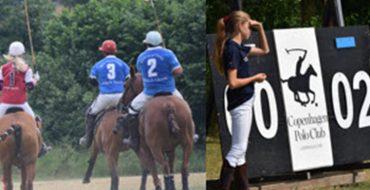 Fund-raising at CPH Polo Club.