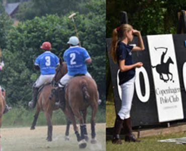Fund-raising at CPH Polo Club.