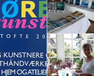 IMPRONTA participate in ÅBNE DØRE kunst, Gentofte 2018.