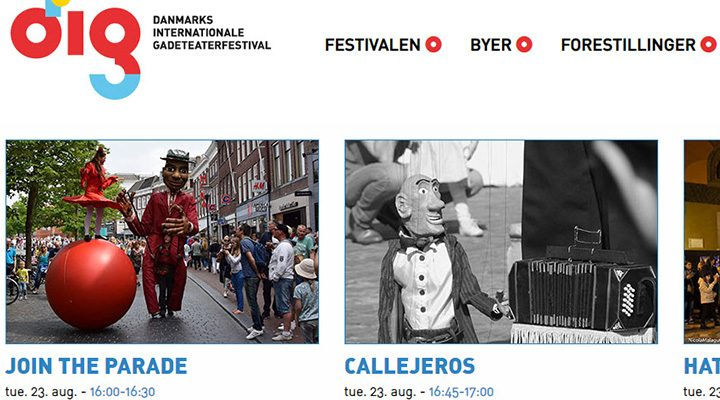 IMPRONTA to join the Street Theather Festival.
