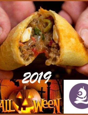 Beef empanada – Halloween 2019 at Rygaards