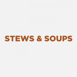 Stews and soups as School Lunch